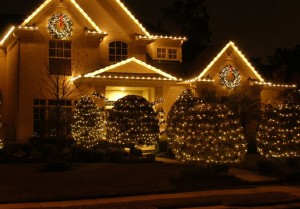 Lights, wreaths and garland all installed for you by Outdoor Lighting Perspectives of Columbus