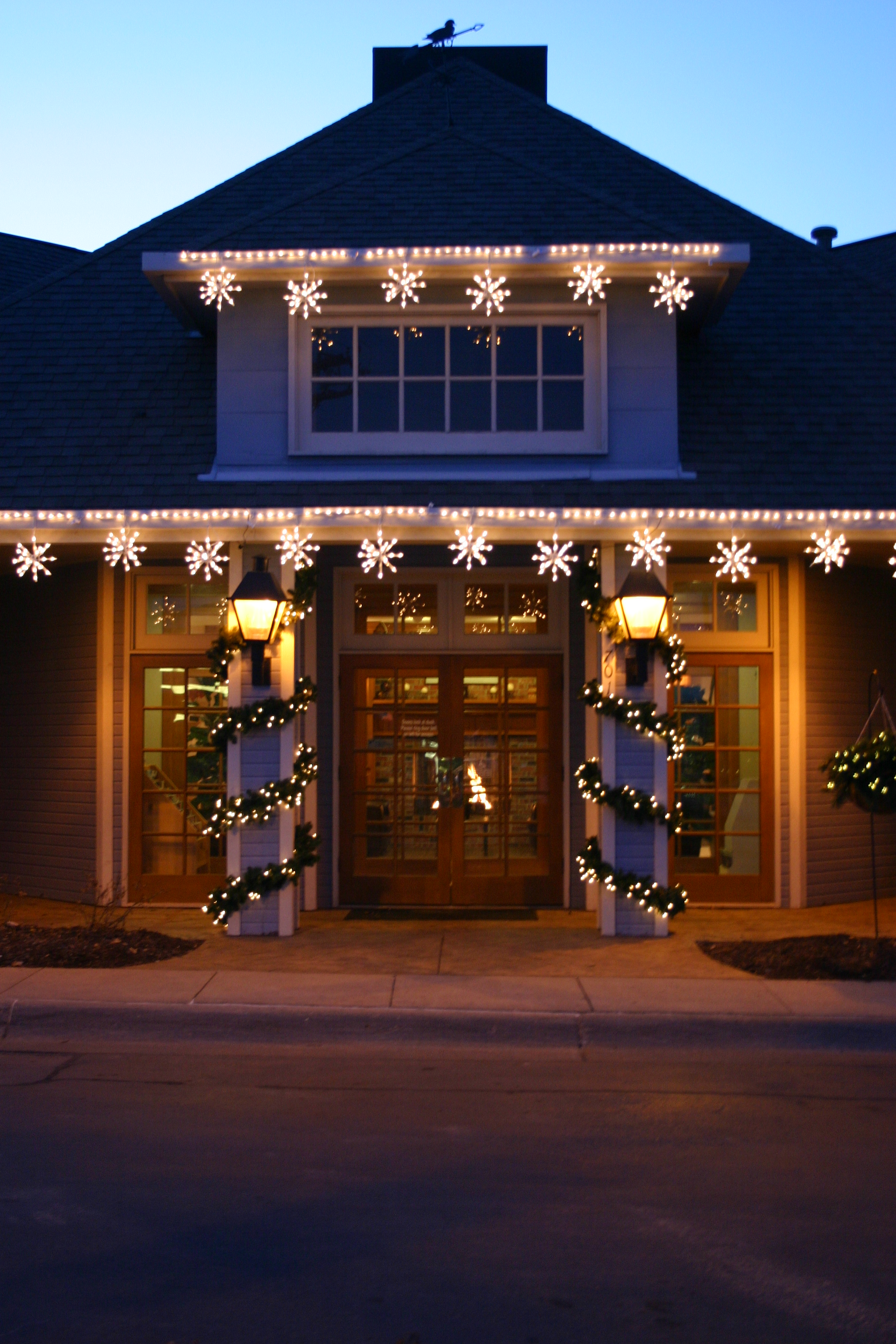 Outdoor Lighting Perspectives: Do You Hear The Bells? Holiday Lighting For Your Columbus