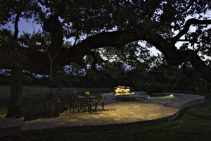 Every part of your yard can be brought out through expert lighting design.