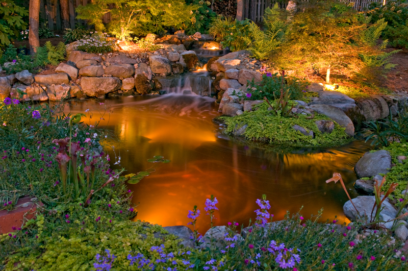 Outdoor Lighting Perspectives Of Columbus Makes Water Features Shine Outdoor Lighting