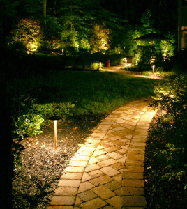 Fall nights are crisp, cool and perfect for enjoying your outdoor lights.