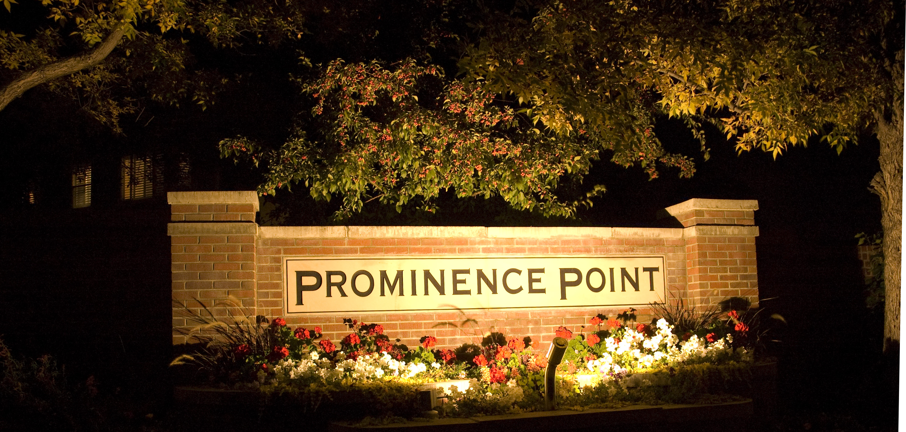 Make A Great First Impression With Professional Entrance Lighting For Your  Subdivision. Use Accent Lighting And Other Professional Outdoor ...