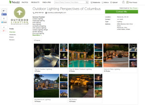 Browse our Houzz page for outdoor lighting inspirations.