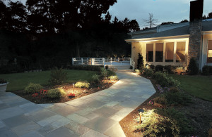 Adding Columbus path lighting welcomes your guest to your home.