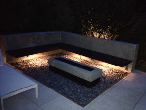 Outdoor Lighting around your firepit is not just beautiful but also necessary.