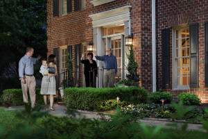 Outdoor Lighting Perspectives - Brantley Front Entry